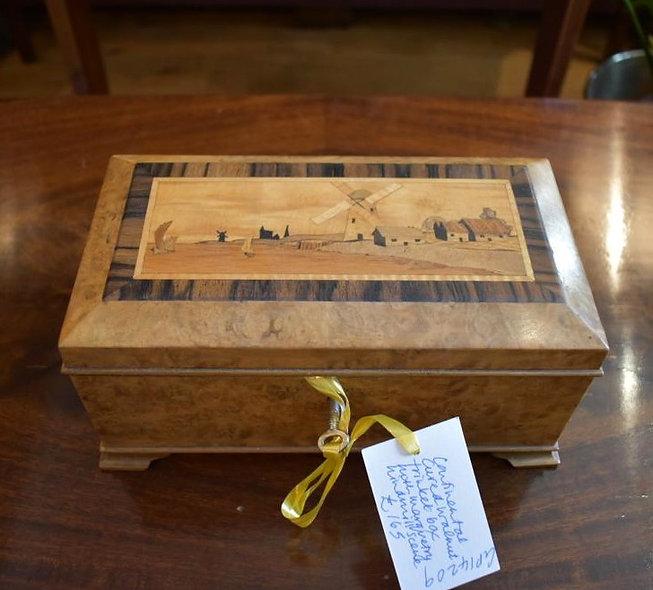 Walnut Trinket Box