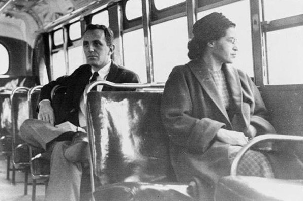 On Dec. 1, 1955, Rosa Parks was arrested after refusing to give up her seat whil