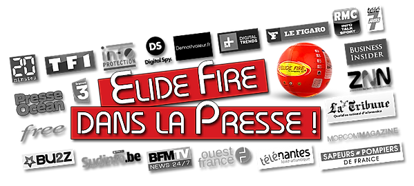 ElideFire® - TF1, France3, 20min,Ouest France...