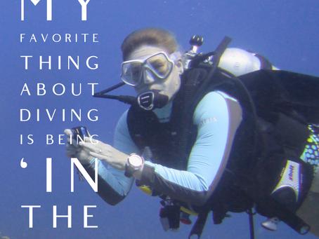 Women in Diving - Chantal