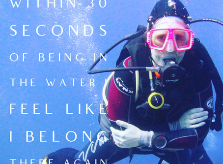 Women in Diving - Deb