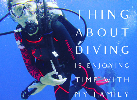 Women in Diving - Mindy