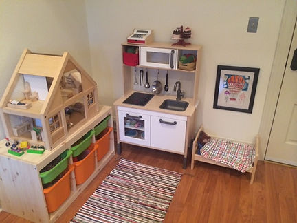 Play Therapy Area and Child Counseling, Denver, Colorado.