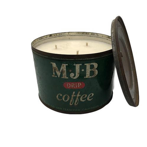 Vintage MJB Coffee Can | Fig + Thyme