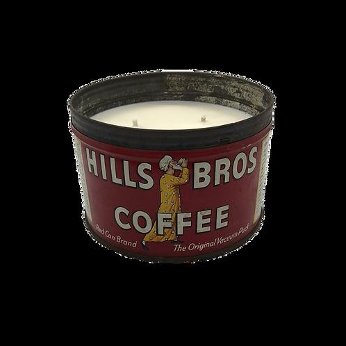 Vintage Hills Bros Coffee Can | Cedar + Cypress