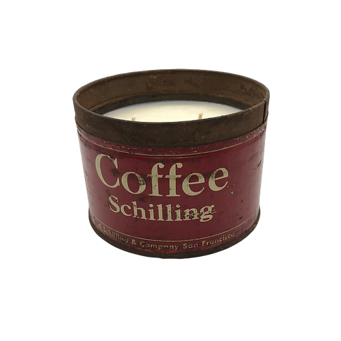 Vintage Coffee Schiling Can |  Douglas Fir Forest