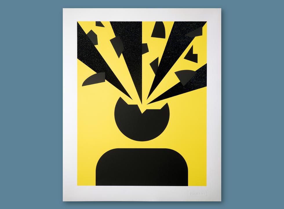 artprint > Exploding Head