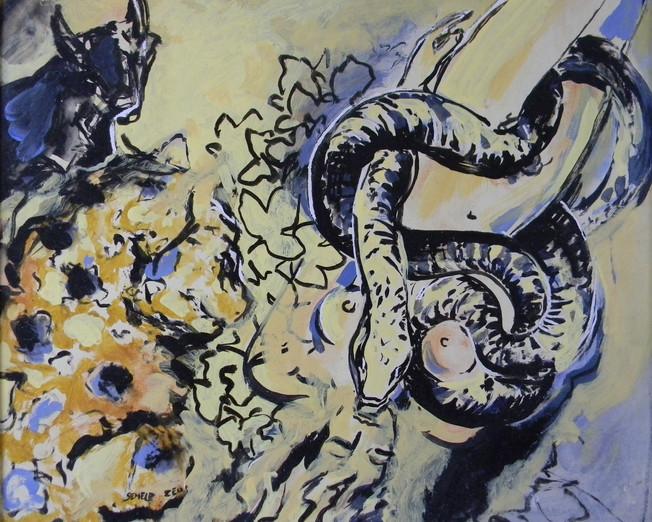 mythologies, encres et pigments