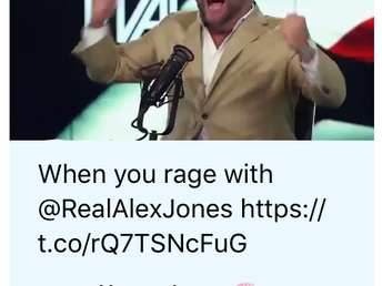 Is Twitter Serious Right Now? Alex Jones is Flagged As 'Potentially Sensitive Content'