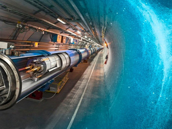 China's Massive Particle Accelerator 'Could Create a Phase Transition that Rips the Very Fab