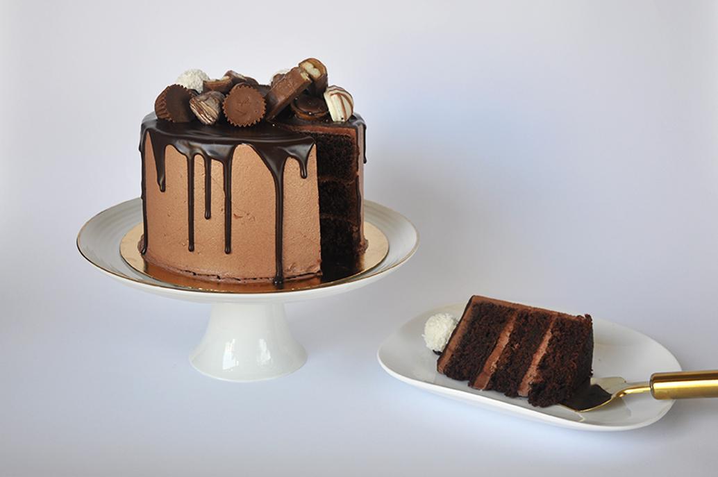 עוגת שוקולד מושחתת
