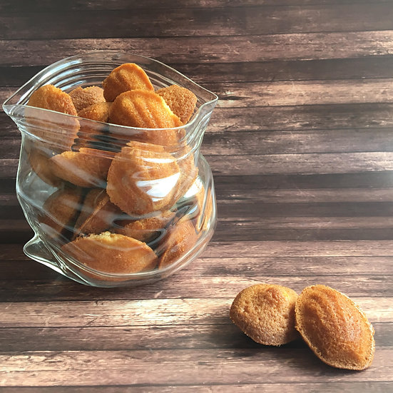 עוגיות מדלן דבש