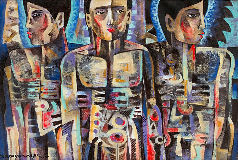"Men and Bones - Francisco ""Paco"" Gorospe"
