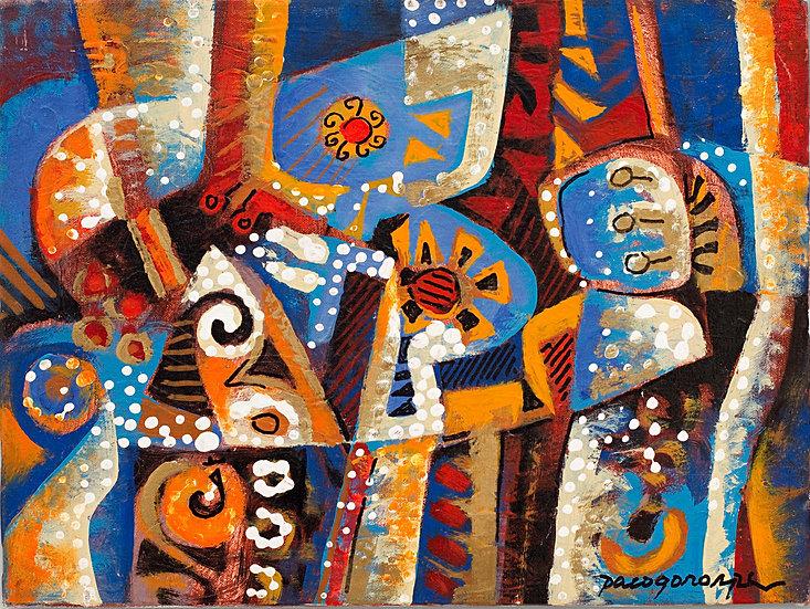 "Blue Composition III - Francisco ""Paco"" Gorospe"