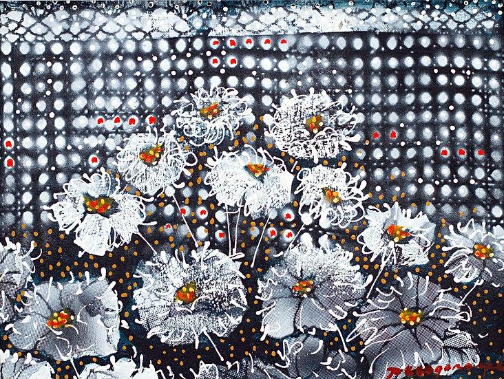 "Flowers in white - Francisco ""Paco"" Gorospe"