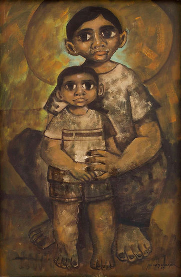 "Mother & Child II - Francisco ""Paco"" Gorospe"