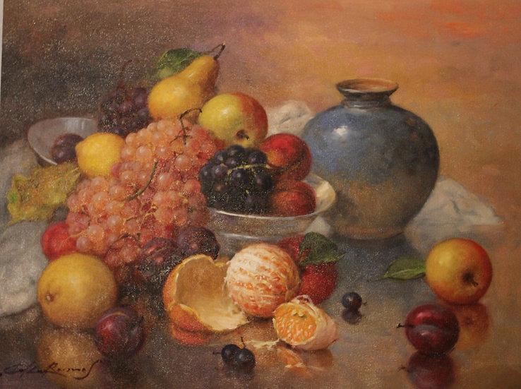 Stilllife with oranges