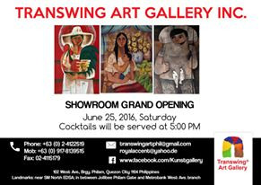 Transwing Art Gallery Inc. - Offical Showroom Opening - 25th June
