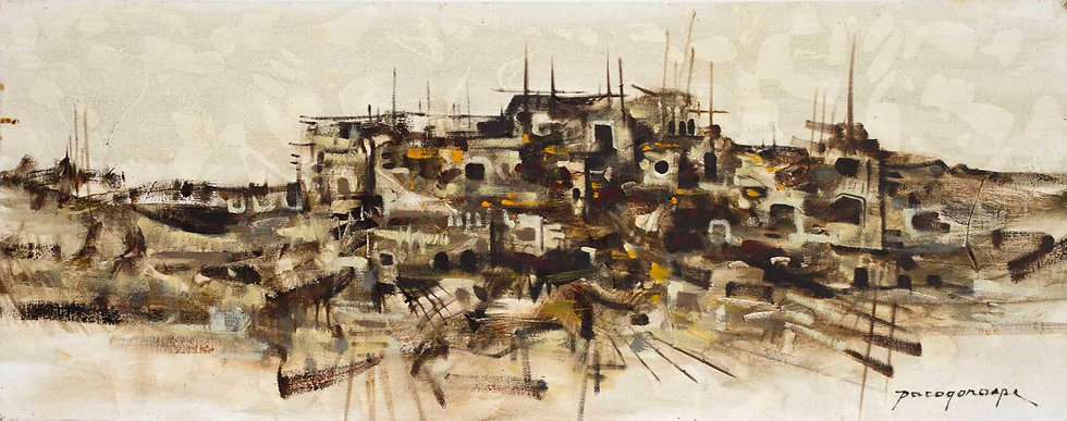 "Boats and Huts - Francisco ""Paco"" Gorospe"