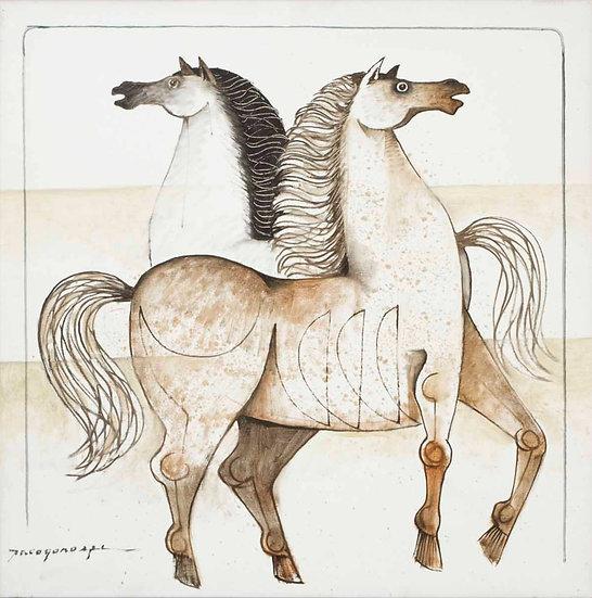 "White Horses - Francisco ""Paco"" Gorospe"
