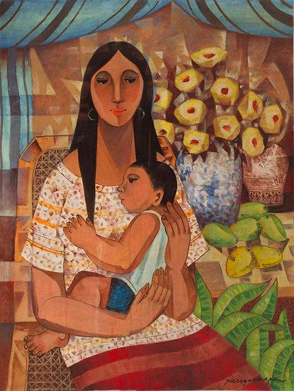 "Mother & Child III - Francisco ""Paco"" Gorospe"