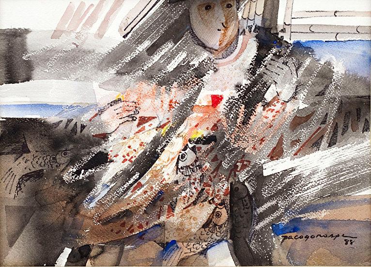 "Man abstract - Francisco ""Paco"" Gorospe"