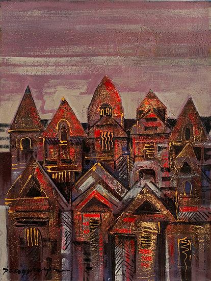 """Houses II - Francisco """"Paco"""" Gorospe"""