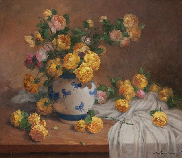 Still Life Flowers - Oscar Ramos