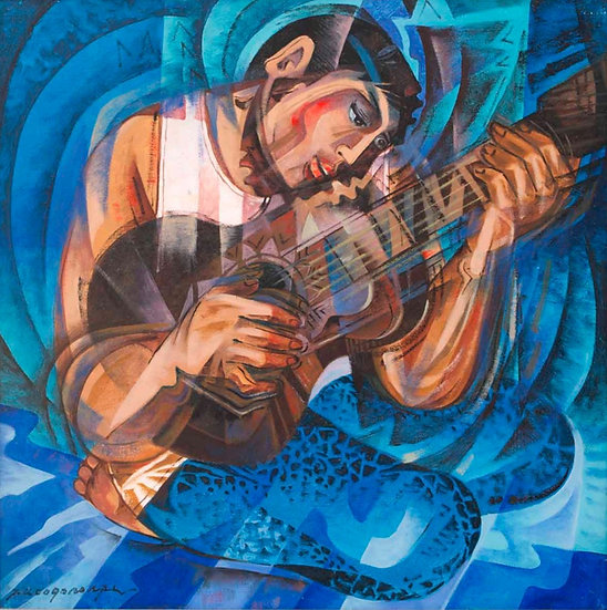 "Guitarista - Francisco ""Paco"" Gorospe"
