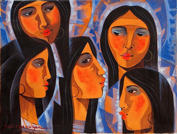 "Lady Faces - Francisco ""Paco"" Gorospe"