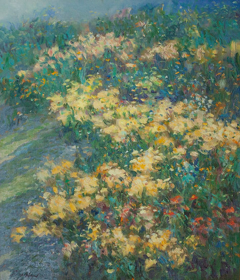 Yellow Flowers - Roger San Miguel
