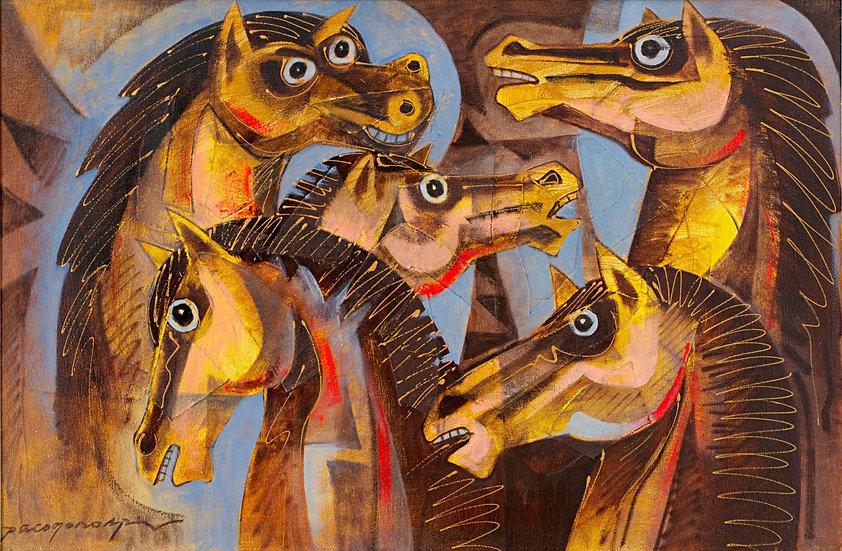 """Horses - Francisco """"Paco"""" Gorospe"""