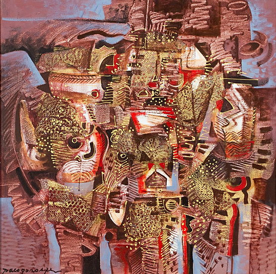 "Brown Gold Composition - Francisco ""Paco"" Gorospe"