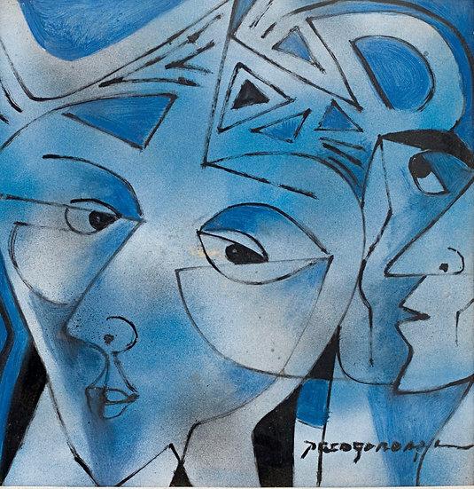 """Blue Faces - Francisco """"Paco"""" Gorospe"""