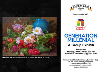 Generation Millenial @ German Club Manila - 27.Jun.16 at 4.00 pm