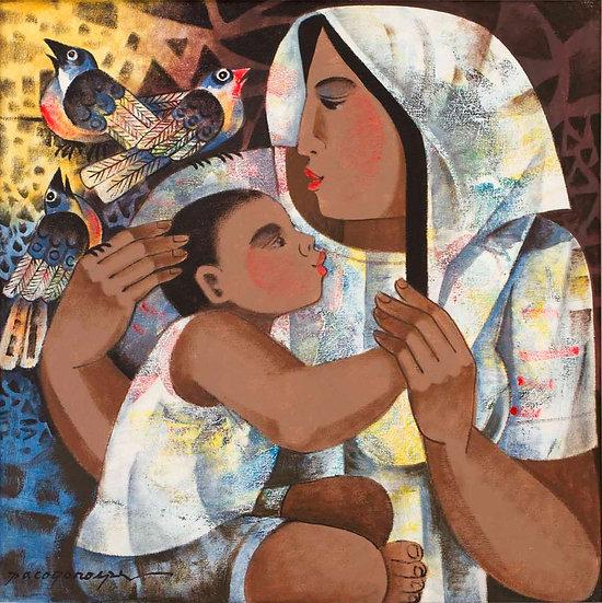 "Mother & Child - Francisco ""Paco"" Gorospe"