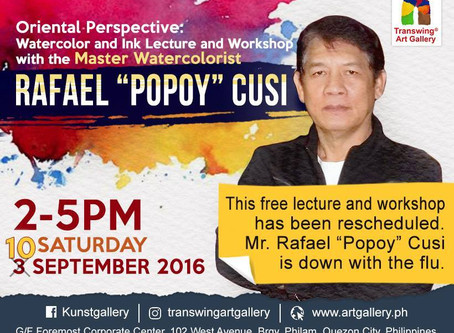 Oriental Perspective: Watercolor and Ink Workshop with Rafael Cusi