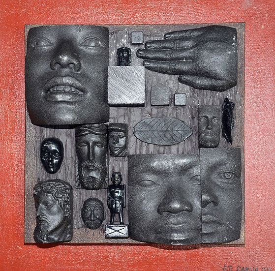 Facets of Faces Series I - Arnel Garcia