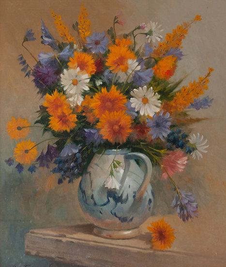 Wildflowers in Jar - Oscar Ramos
