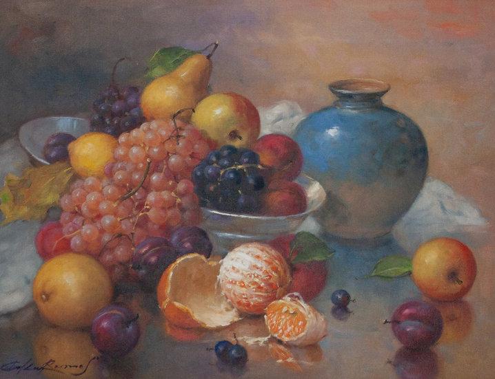 Still Life with Oranges - Oscar Ramos