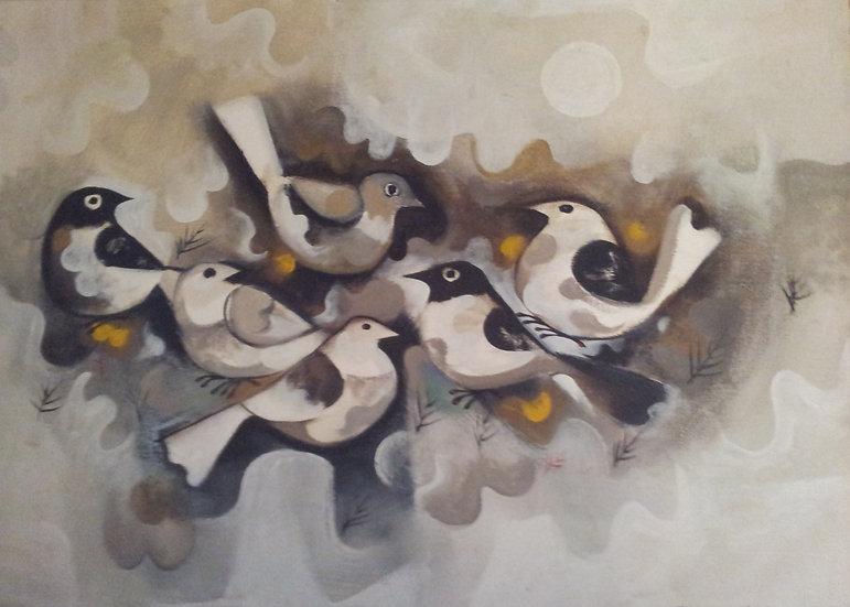 "White Birds - Francisco ""Paco"" Gorospe"