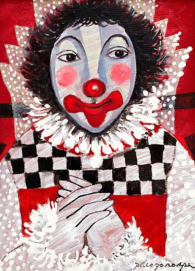 "Clown in red - Francisco ""Paco"" Gorospe"