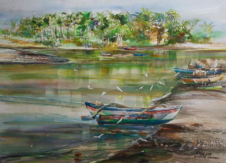Waterscene - Rafael Popoy Cusi