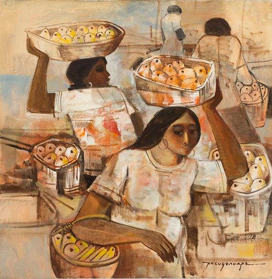 """Fruit Vendors - Francisco """"Paco"""" Gorospe"""