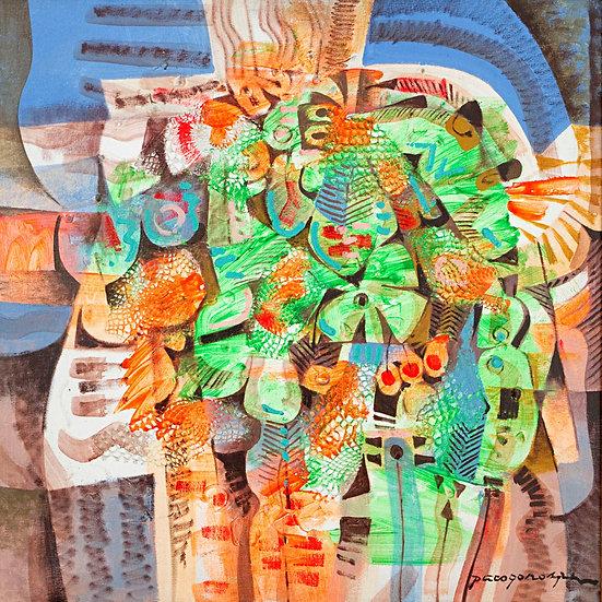 """Green Composition - Francisco """"Paco"""" Gorospe"""