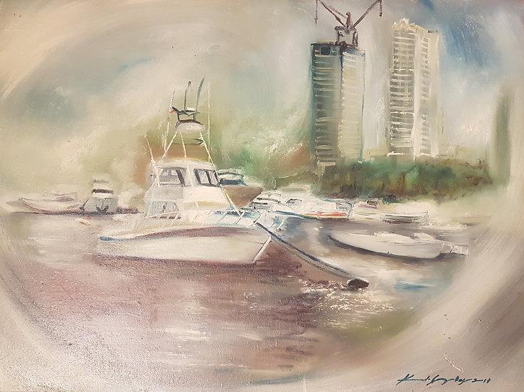 Harbourscene - Kristian Gonzales