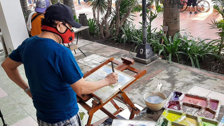 ON-THE-SPOT ART SESSION WITH MASTER RAFAEL POPOY CUSI