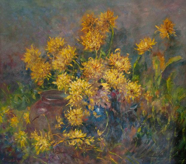 Yellow Wildflowers - Oscar Ramos