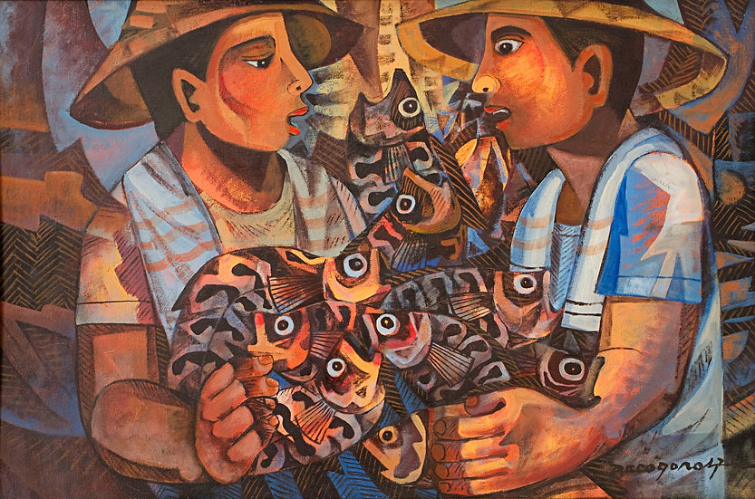 "Upset Fishermen - Francisco ""Paco"" Gorospe"