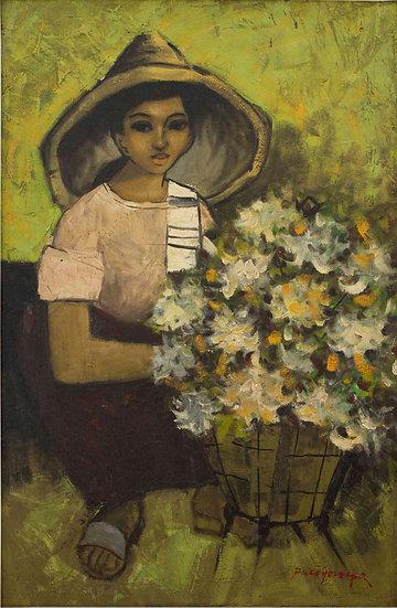 "Woman Cotton - Francisco ""Paco"" Gorospe"